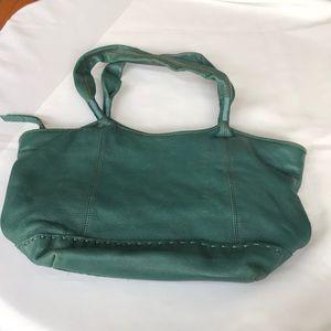 The Sak Teal Leather bag